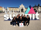 Les étudiants de licence pro E-Commerce et marketing numérique au Web Summit de Lisbonne