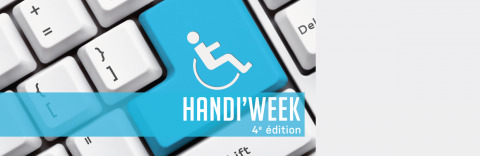 HANDI WEEK #4 - SAVE THE DATE - Semaine du vivre ensemble à l'université du 19 au 23 mars 2018